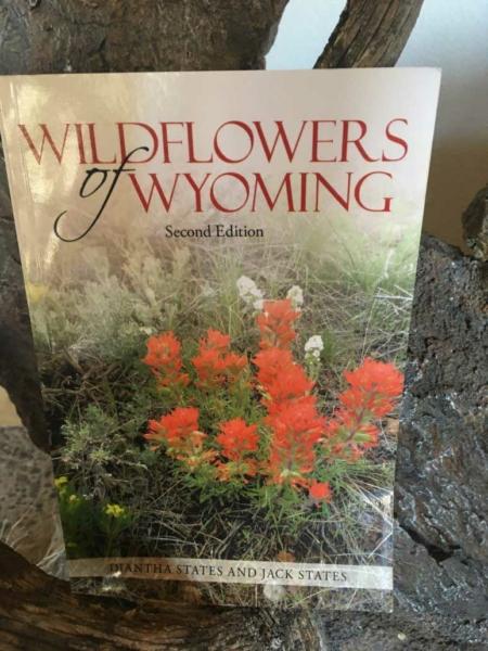 Wildflowers of Wyoming book